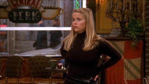 Reese Witherspoon stars alongside Jennifer Aniston in Friends
