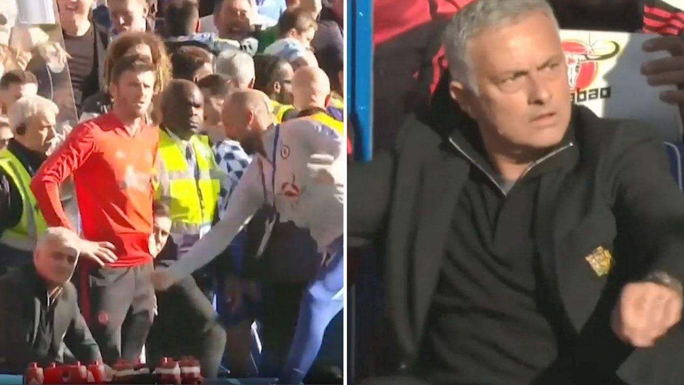 Jose Mourinho: Man Utd boss escapes punishment for fracas after Chelsea match