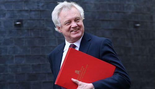 David  Davis has resigned as Brexit Secretary. (AP).