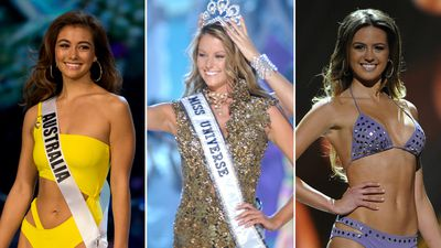 The most memorable Miss Universe Australia winners through the years