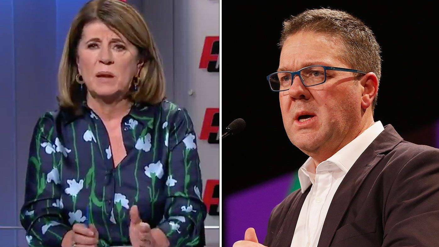 Caroline Wilson blasts AFLPA over media beat-up comments