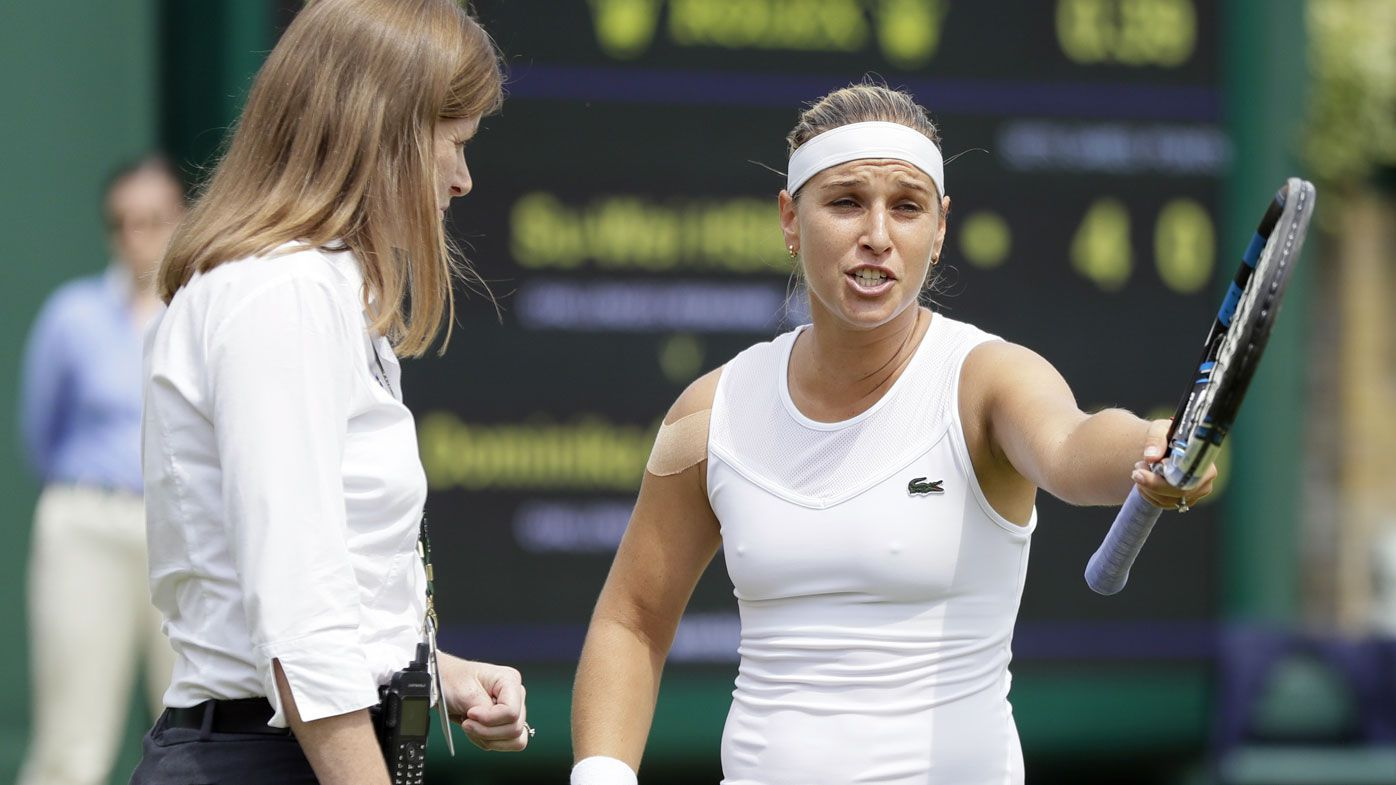 Dominika Cibulkova accused of 'poor sportsmanship' during Wimbledon victory