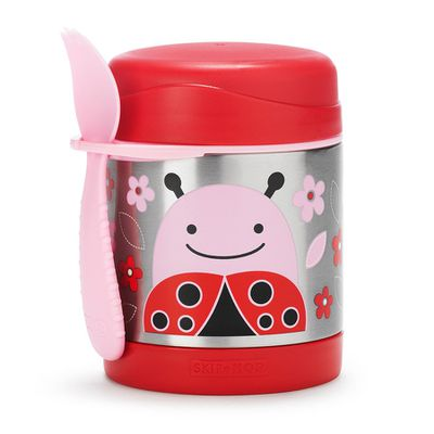"<a href=""https://www.toysrus.com.au/skip-hop-insulated-food-jar-ladybug/"" target=""_blank"">Skip Hop Insulated Food Jar, $34.95.</a>"