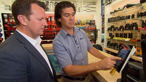 Another camera store owner, Russell, claimed he lost $21,000.