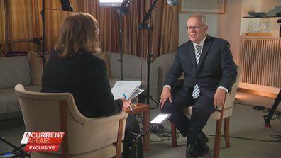 Tracy Grimshaw interviews Prime Minister Scott Morrison