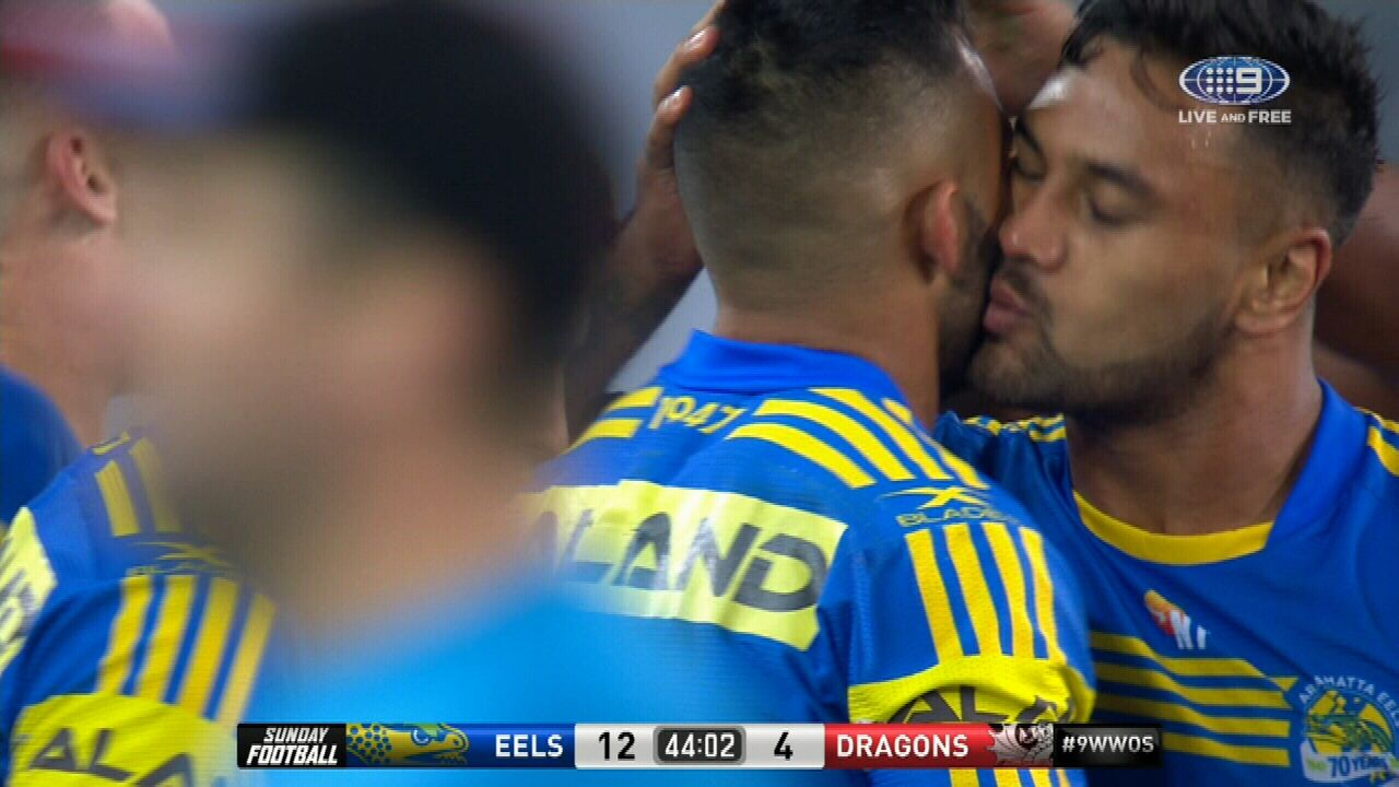 French receives kiss for crunch tackle
