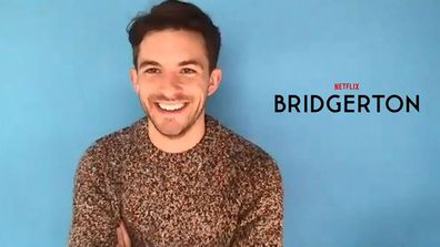 Jonathan Bailey from Bridgerton chats to 9Honey Celebrity