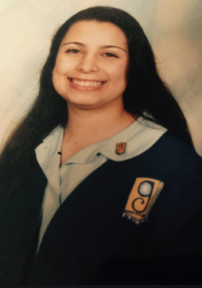 Jo Abi during her high school years.