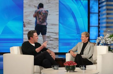 Ben Affleck and Ellen DeGeneres