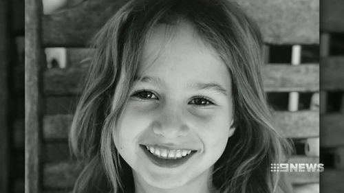"""Indie Armstrong is being remembered as a """"beautiful princess"""" whose precious smile lit up the room. Picture: 9NEWS"""