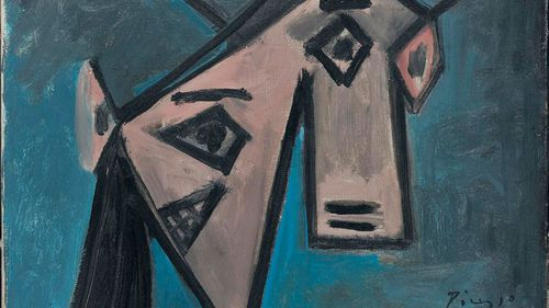 Missing artworks by Pablo Picasso and Piet Mondrian have been recovered by Greek police almost a decade after they were stolen in a daring museum heist.