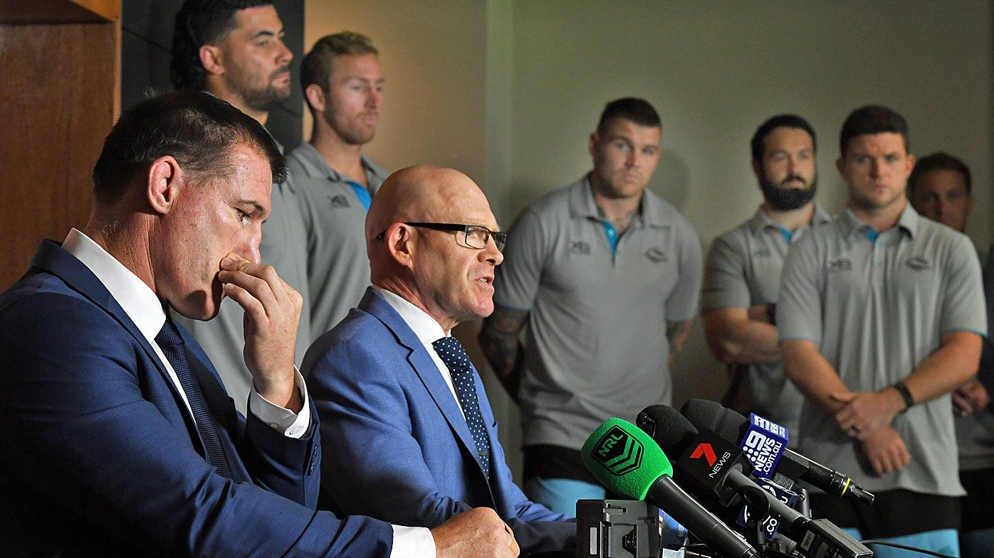 Cronulla Sharks receive discounted fine for self-reporting salary cap issues