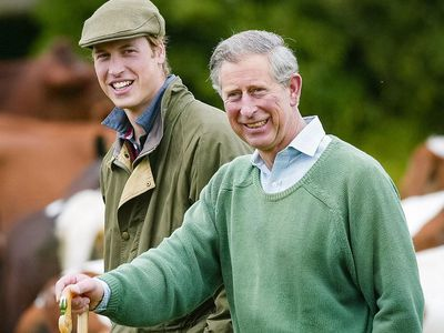 Prince William shares touching throwback with Prince Charles