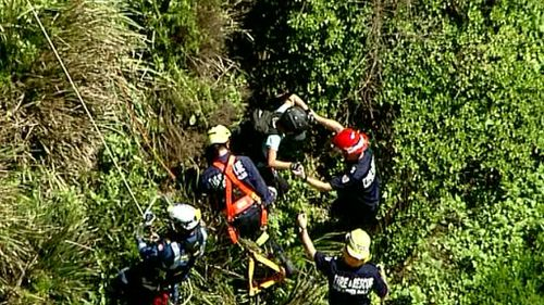 She was assessed by ambulance officers and given the all clear. (9NEWS)