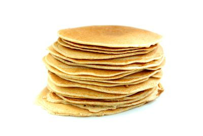 Pikelet: up to 2 teaspoons of sugar
