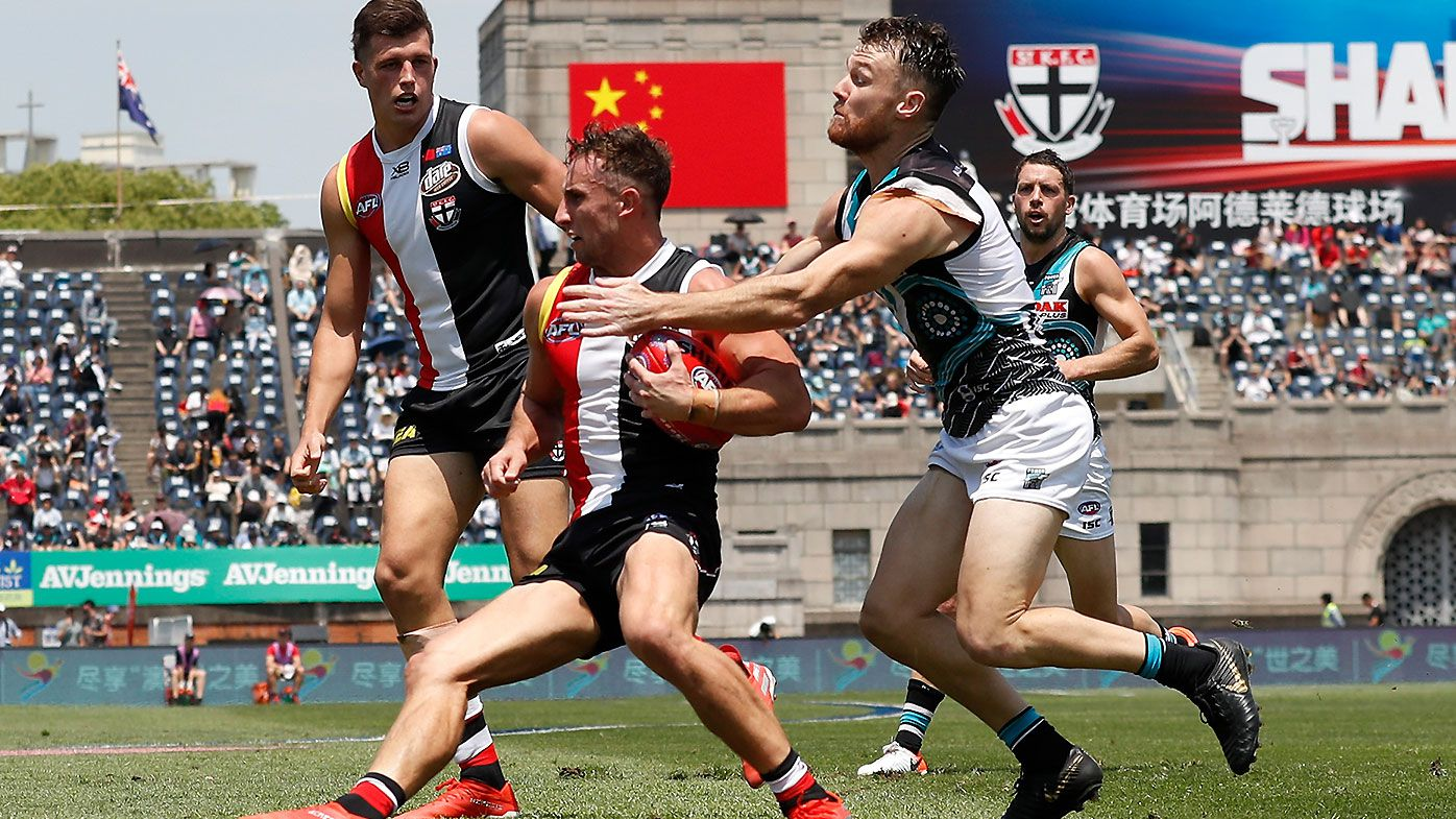 AFL reportedly set to scrap annual China fixture due to coronavirus fears