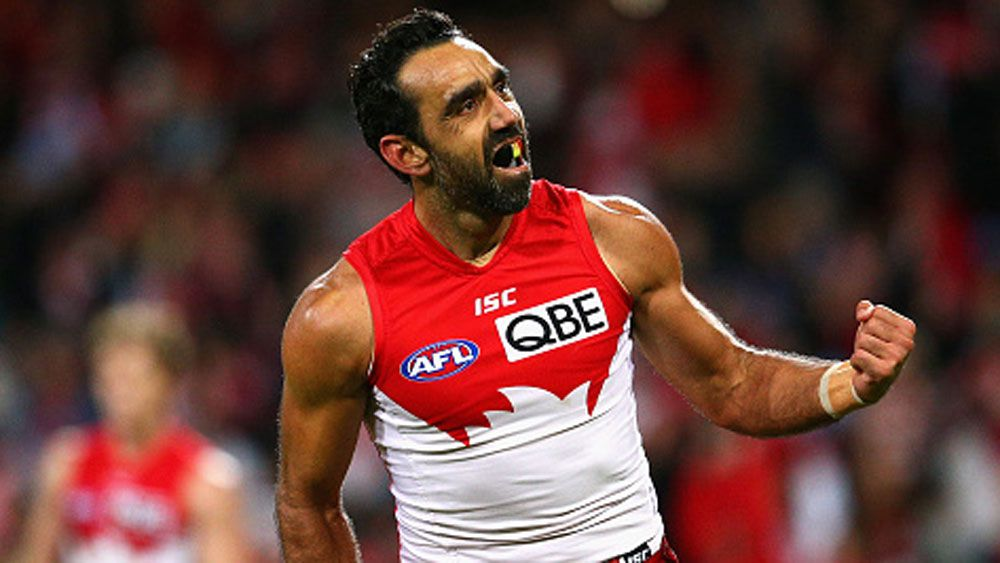 Adam Goodes. (Getty)