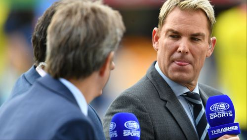 Cricket legend Shane Warne has been a part of Channel Nine's coverage for the past few years. (Supplied)