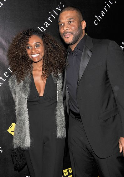 Tyler Perry and Gelila Bekele attend the 6th Annual Charity: Ball at the 69th Regiment Armory on December 12, 2011 in New York City.