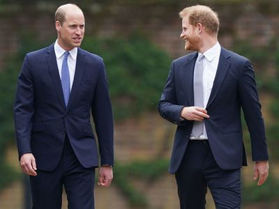 William and Harry reunite a second time, July