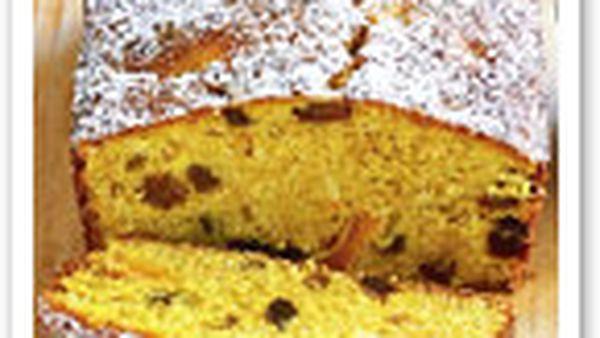 Coconut pumpkin cake