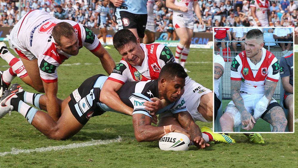 Townsend stars as Sharks smash Dragons