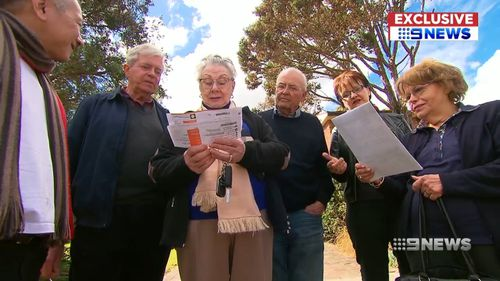 The residents group is calling for council to be suspended.