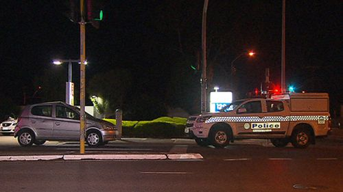 Investigators are trying to determine how the pair was hit metres from a pedestrian crossing. (9NEWS)