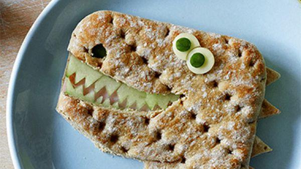 Ty-ham-asaurus rex sandwich