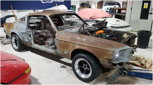 1968 Ford Mustang GT sold with previous owner's ashes inside Car News