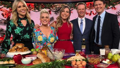 Jane de Graaff and Lyndi Cohen talk healthy Xmas food swaps on Today Show