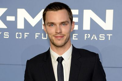 No red carpet PDA here! On and off screen lovebirds Nicholas Hoult and Jennifer Lawrence made separate red carpet appearances.