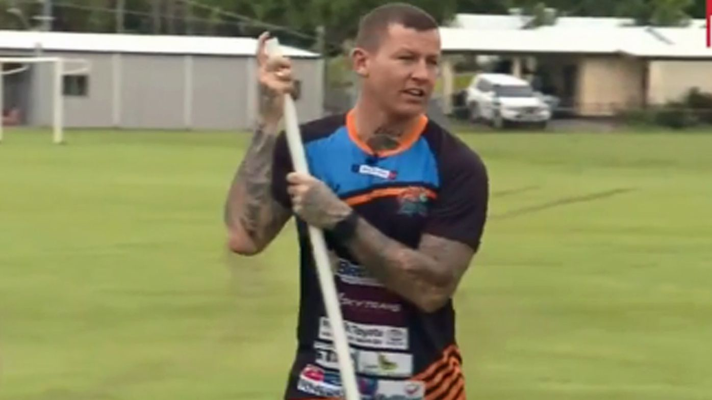 NRL: Todd Carney working as teacher's aide at Cairns high school
