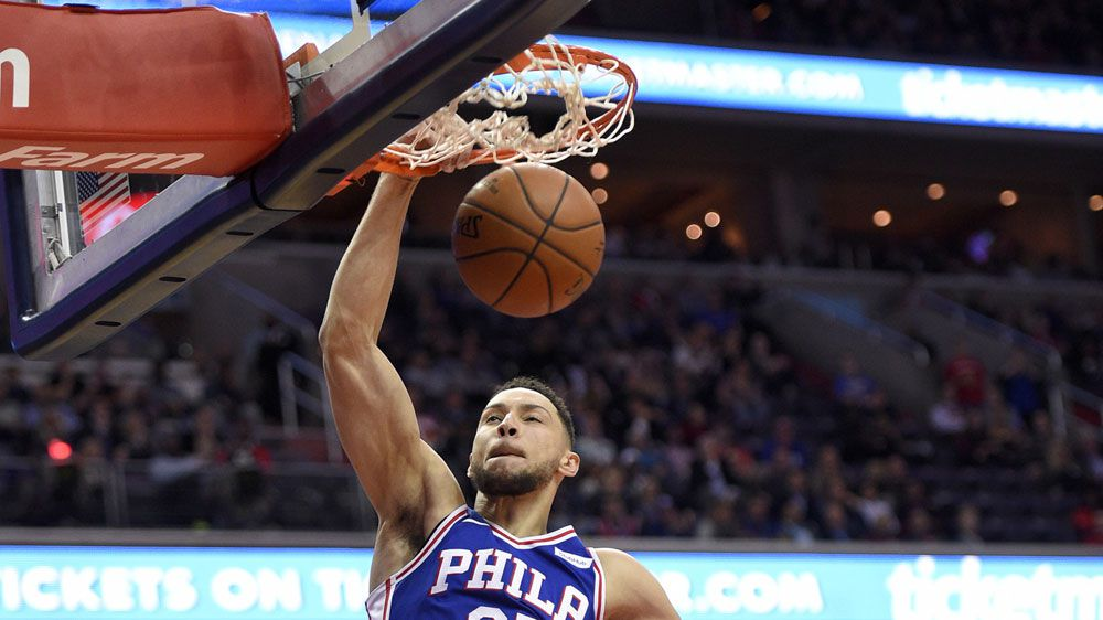 NBA: Ben Simmons leads Philadelphia 76ers to another win