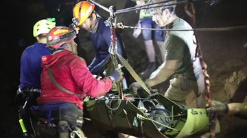 Rescue footage world has been waiting to see