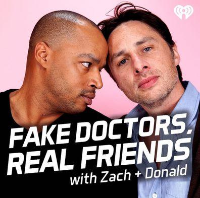 Zach Braff, Donald Faison, podcast, Scrubs