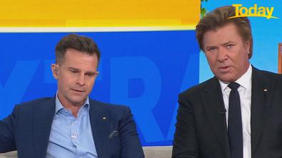 The hosts praised Michael Gudinski's commitment to Australian artists.