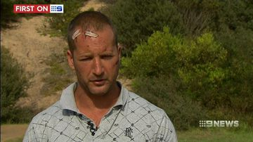 VIDEO: Surfer attacked with spears after refusing to hand over phone