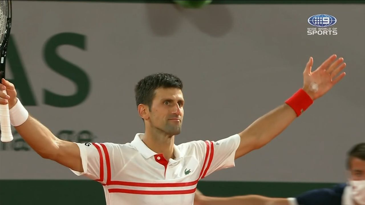 Tennis world loses it over 'best ever match' as Djokovic masterclass sparks 'GOAT' claims