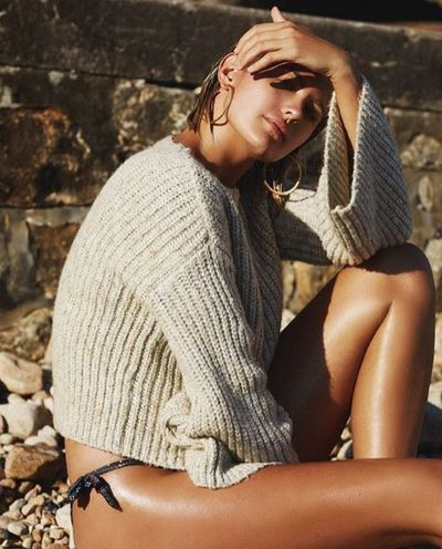 Jesinta Franklin for Tigerlily's new Holiday Capsule Collection