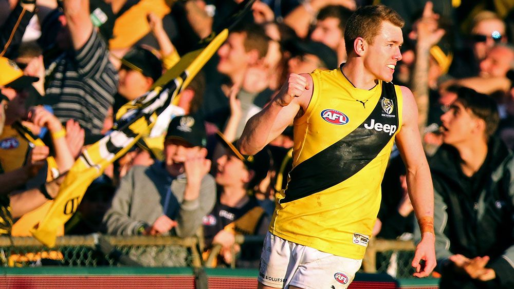 AFL top-four berth within reach for Richmond Tigers following win over Fremantle