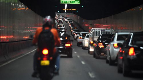 Sydney's M5 tunnel.