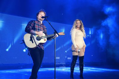 Beyoncé and Ed Sheeran