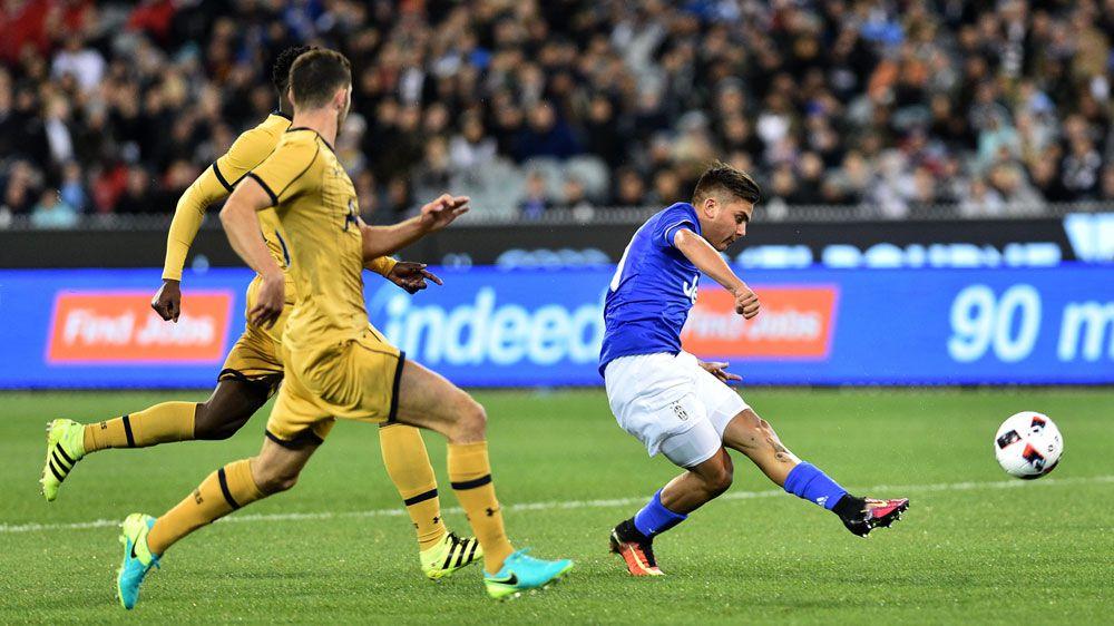 Juventus down Tottenham at MCG