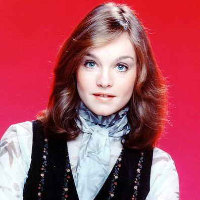 Pamela Sue Martin in a promotional portrait for the TV series 'The Hardy Boys/Nancy Drew Mysteries', 1977.