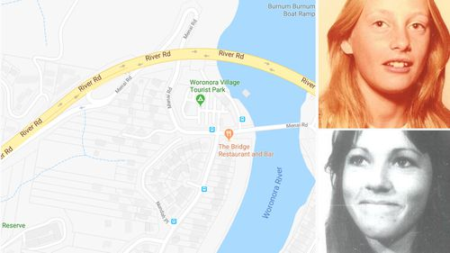 Elaine had been rooming with neighbourhood friend, 17-year-old Kerry Joel, at Woronora Caravan Park in early February 1980 when they vanished.