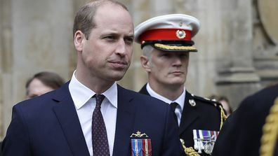 The Duke of Cambridge attended the ceremony in his capacity as Commodore-in-Chief of the Submarine Service.