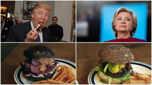 Bun fight: Trump and Clinton burgers served up in Japan