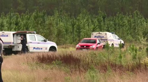 The bodies of William and his father were found dead on a remote road on the Sunshine Coast yesterday.