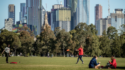 Premier Daniel Andrews announced an easing in Melbourne's restrictions, with the curfew to be lifted, primary school students to return to the classroom in early October and up to five people will be allowed to gather outdoors.